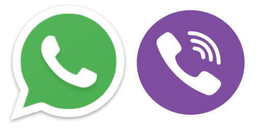 Viber+Whatsapp